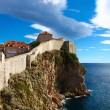 Panoramof walls which is defending old Dubrovnik — Stock Photo #19673367