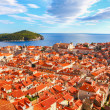 Beautiful panorama of Dubrovnik, Croatia — Stock Photo #19673389