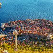 Beautiful panorama of Dubrovnik, Croatia — Stock fotografie