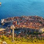 schönes Panorama von Dubrovnik, Kroatien — Stockfoto