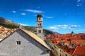Beautiful panorama of Dubrovnik, Croatia — Stock Photo