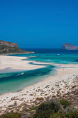 Gramvousa island and Balos Lagoon on Crete — Stock Photo