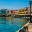 Promenade in Chania, Crete, Greece — Stock Photo #25324347