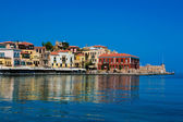 Panorama of Chania, Crete, Greece — Stock Photo