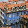 Red roofs in old Porto, Portugal — Stock Photo