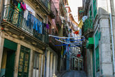 Classic street in old city of Porto — Stock Photo