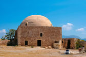 Mosque of Sultan Ibrahim Han in Rethymno at Crete — Stock Photo