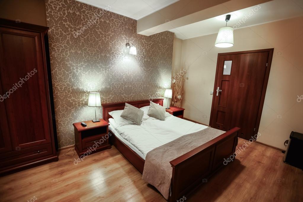 ... Di Lusso : Interno della camera di hotel moderno lusso ? foto stock