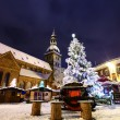 Stock Photo: Christmas time in Old Riga, Latvia