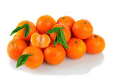Clementines on White — Stock Photo