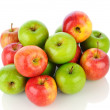 Pile of Gale and Granny Smith Apples — Stock Photo