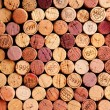 Wall of Wine Corks — Stock Photo