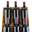 Case of Cabernet Wine Bottles — ストック写真