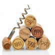 Stock Photo: Corks with Vintage Date