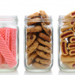 Royalty-Free Stock Photo: Three Cookie Jars