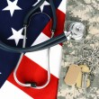 Military Health Care Concept — Stockfoto