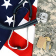 Military Health Care Concept — Foto de Stock