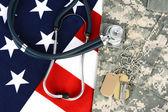 Military Health Care Concept — Stock Photo