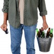 Man Carrying Beer — Stock Photo #29809069