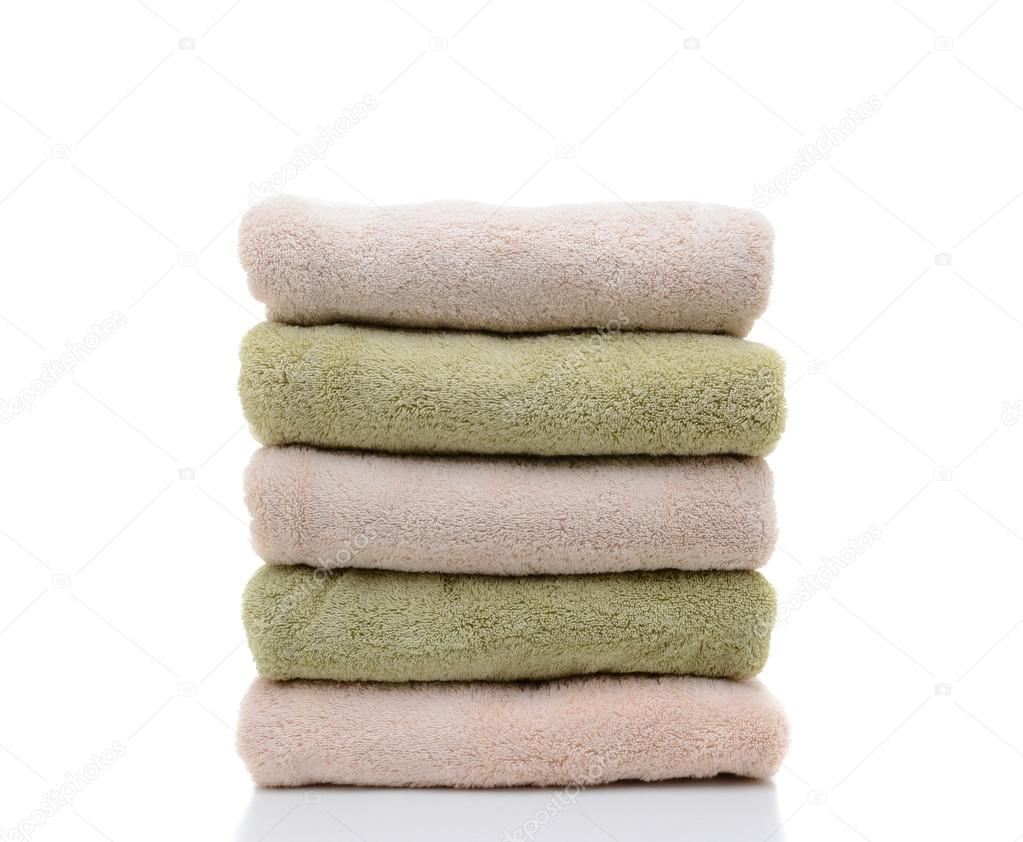 Une pile de serviettes de bain pli photographie scukrov 30360601 - Serviette de bain jalla ...