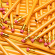 A Random Pile of Pencils — Stock Photo