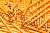 A Random Pile of Pencils — Stock Photo