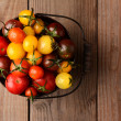 Stock Photo: Baby Heirloom Tomatoes