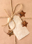 Christmas Gift Closeup — Stock Photo