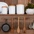 Rustic Kitchen — Stock Photo #39414461