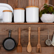 Stock Photo: Rustic Kitchen