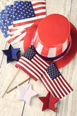 Fourth Of July Display — Stock Photo