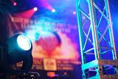 舞台灯 — 图库照片