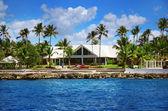 Caribbean villa — Stock Photo