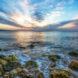 Ocean sunrise — Stock Photo