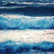 Blue waves — Stock fotografie