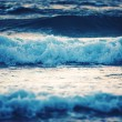 Stock Photo: Blue waves