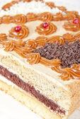 Ciasto smaczne orzechy — Zdjęcie stockowe