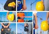 Zestaw pracowników — Zdjęcie stockowe