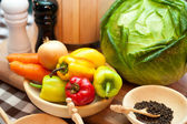 Verduras frescas — Foto de Stock