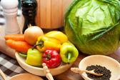Verdure fresche — Foto Stock