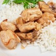 Rice with meat — Stock Photo #13638422