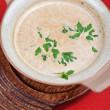 Mushroom cream soup — Stock Photo #13965505