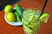 Limonada de pepino — Foto de Stock