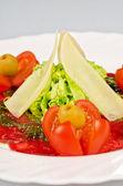 Kött carpaccio — Stockfoto