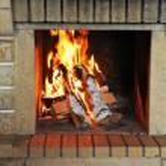 Постер, плакат: Fireplace