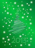 Yeni 2012 yılı takvimi — Stok Vektör