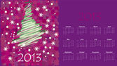 Calendar to a new 2012 year — Stock Vector