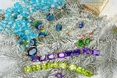 украшения на елку — Стоковое фото