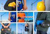 Workers set — Stock Photo