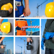 Workers set - Foto Stock